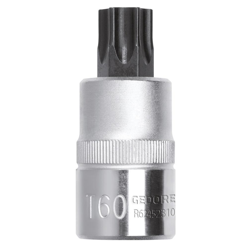 Chave soquete 1/2″ TX (perfil hexalobular), mm
