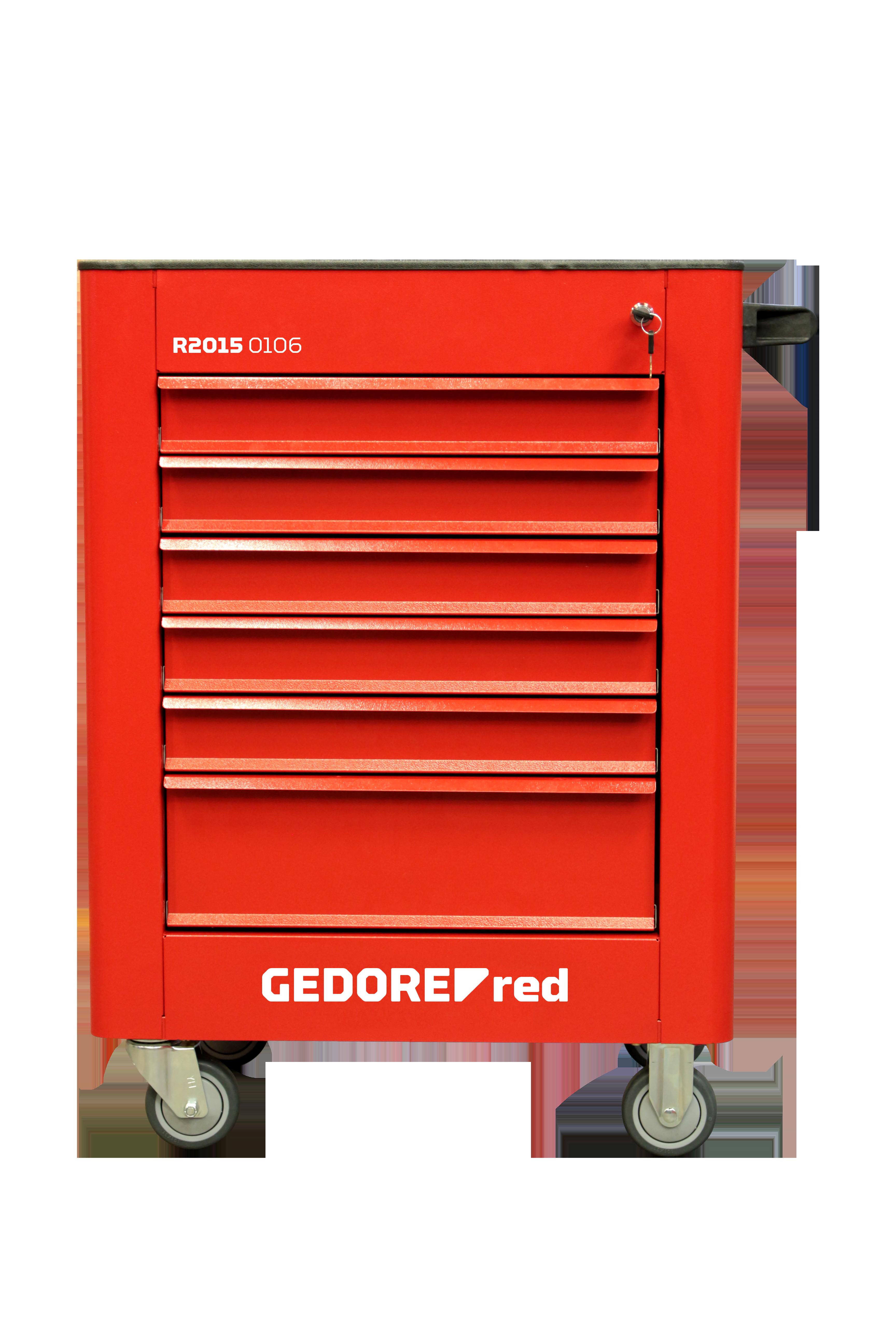 Carro para ferramentas GEDORE Red Essencial